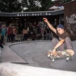Große Einweihungsfeier für den Skatepool
