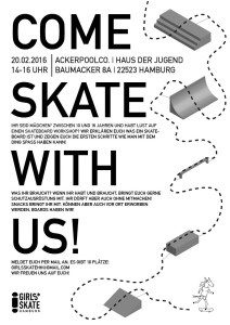 Come Skate With Us