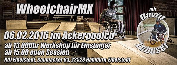 Chairskating Workshop am 06.02.2016