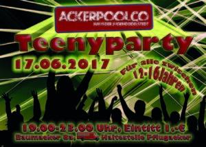 Teenyparty 17.06.2017