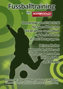 Fußballprojekt am Donnerstag